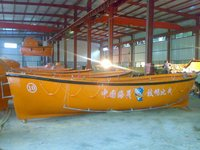 FRP Open Lifeboat