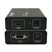 HDMI to VGA and 3.5mm Audio Converter, Offer HDMI Out Port to VAG Display