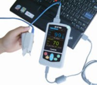 Handheld Pulse Oximeter With Memory