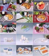 Biodegradable Tablewares