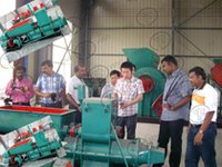 Automatic Soil Brick Machine