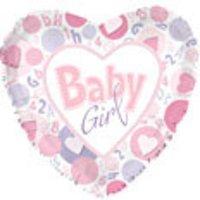 Baby Heart Shape Balloons