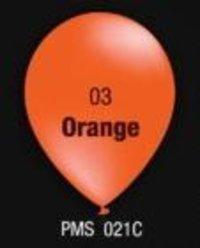 Orange Color Balloons