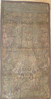Indian Wall Hanging Beads Work Zardosi Tapestry