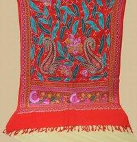 Designer Embroidered Pashmina Shawls