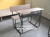 Durable School Bench