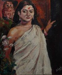 Indian Beauty Paintings