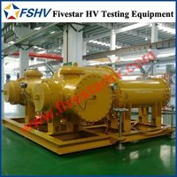 Encapsulated SF6 Gas Insulation AC Test Transformer Systems for GIS GIL High Voltage Testing