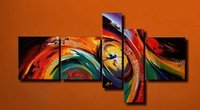 Hand Painted Abstract Oil Paintings On Canvas