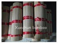 100% Bamboo Unscented Agarbatti Raw Material