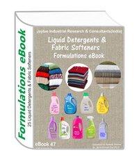 Liquid Detergents & Fabric Softeners Manufacturing Formulations Ebook