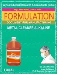 Formula Document For Making Metal Cleaner Alkaline
