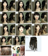 Wigs For Cancer Patients (Prosthesis Human Hair Wigs)