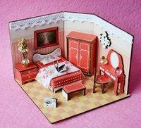 Mini Bedroom Doll House