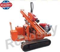 Hydraulic Piling Machine for Guardrails