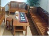 Bamboo Wood Sofa Set