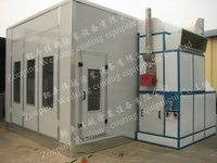 Full Down Draft Auto Spraying Bake Paint Booth With Italy Reillo Diesel Burner
