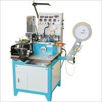 Ultrasonic Label Cutting With Center Fold Machine