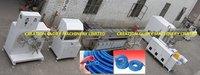 High Output Pvc Tpu Twisted Strengthened Tube Plastic Extruder Machine