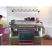 Semi Automatic Flat Knitting Machine
