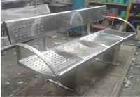 Durable Steel Benches