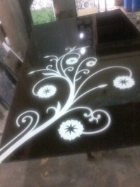Decorative Glass Table