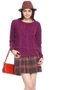 Pink Acrylic Sweater