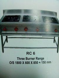 Three Burner Range Cooking Stove