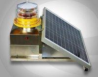 Medium Intensity Type B Solar Aviation Obstruction Light For Towers