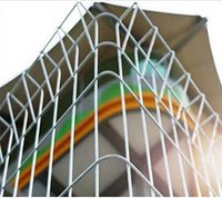 Powder Coated Galvanized Garden Fence Panels