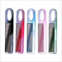 D / C Colours Plastic Hair Combs