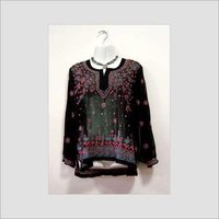 Hand Embroidered Sequin Tops