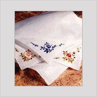 Ladies Embroidered Handkerchiefs