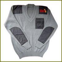 V Neck Pocket Pullover