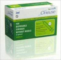 100 Disposable Syringes Without Needle