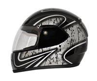 Full Face Helmet Trojan Graphic