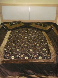Embroidered Bed Cover
