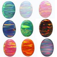 Synthetic Opal On Stones- Doublet Opal