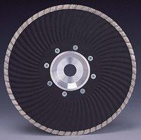 Diamond Wave Turbo Blade With Flange
