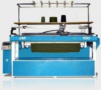 Semi Computerized Flat Bed Knitting Machine