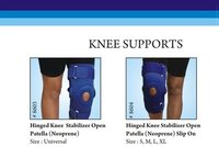 Knee Stabilizer Hinged