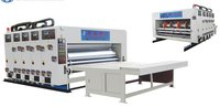 Water Ink Multi-Color Printing And Slotting Machine