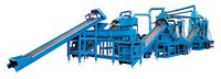 Waste Tire Recycling Processing Production Line For Rubber Granules