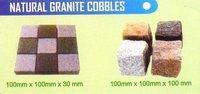 Natural Granite Cobbles Stone