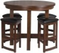 Oak Bar Table And Chair