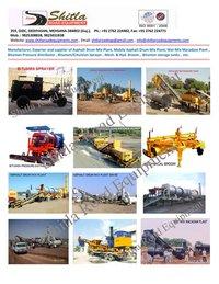 Road Construction Machine