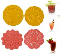 Silicone Beer Coaster for Bar or Family