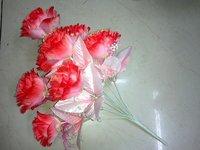 12h Pink Rose Bunch Artificial Flower