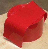Pvc Strip Red