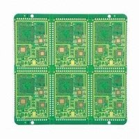 Four Layer Pcb With Gold Plating